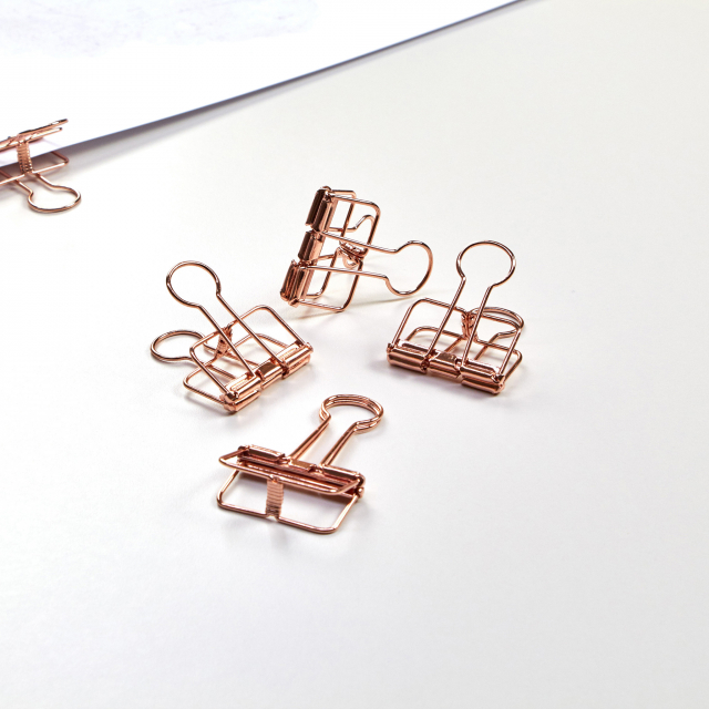 Poster Clips Bronze