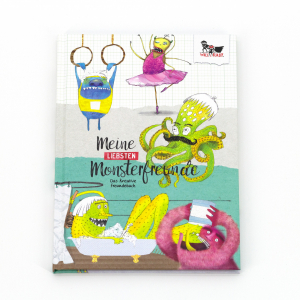 Will & Ruby Monster-Freundebuch