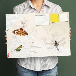 Will & Ruby - Schreibtischunterlage - Insekten