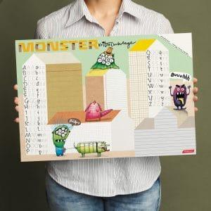 Will & Ruby - Schreibtischunterlage - Monster